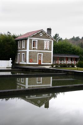 Vista actual de la casa  orginal del guarda
