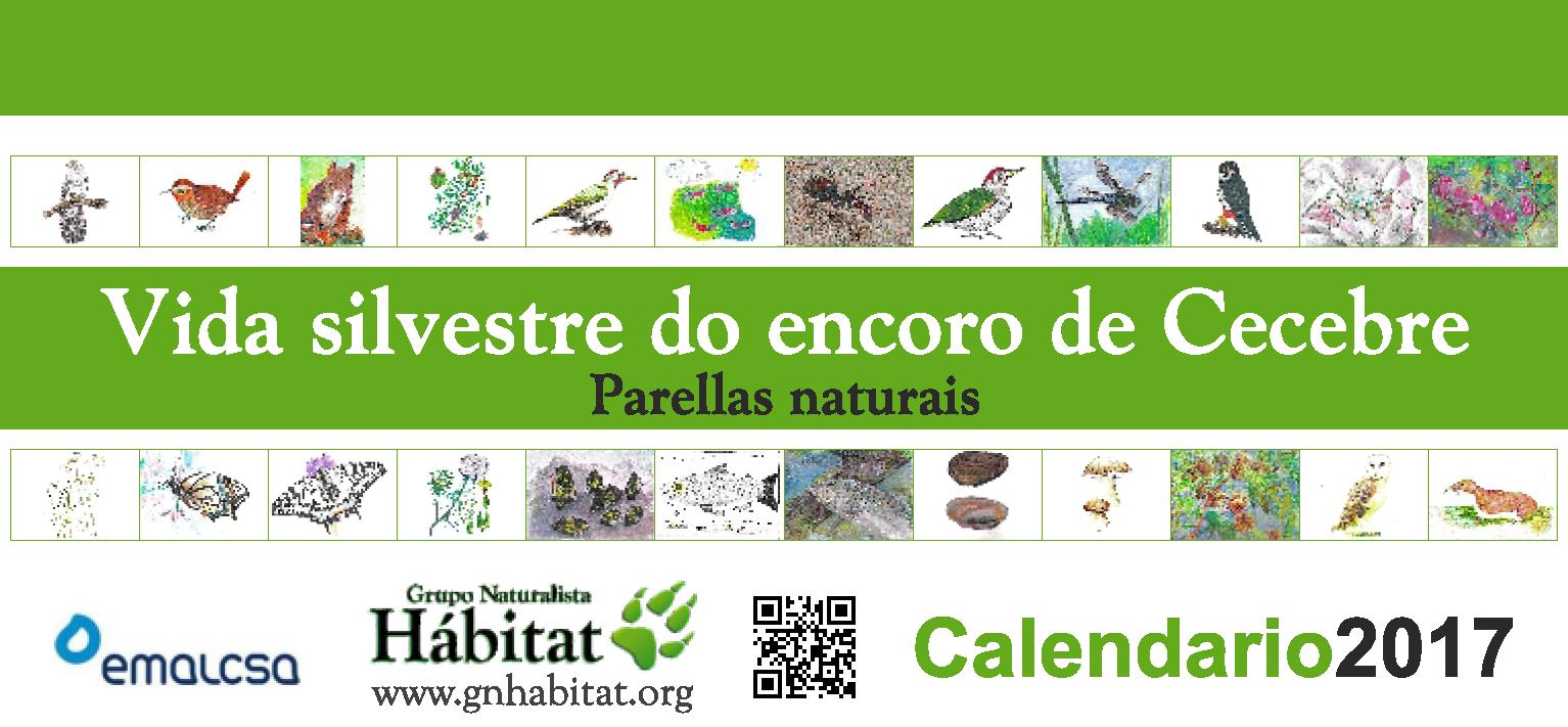 Disponible el Calendario 2017 del Grupo Naturalista Hábitat