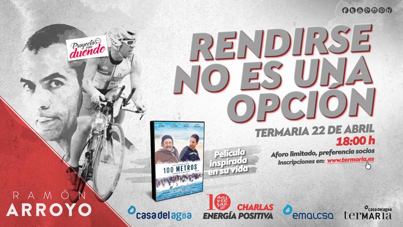 Charla con Ramón Arroyo, paciente de esclerosis múltiple y triatleta