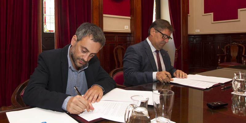 Emalcsa y la Universidad de A Coruña estrechan su colaboración con la Cátedra Emalcsa