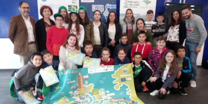 El colegio Vicente Otero Valcárce gana el I Concurso 'A Auga Non Para'