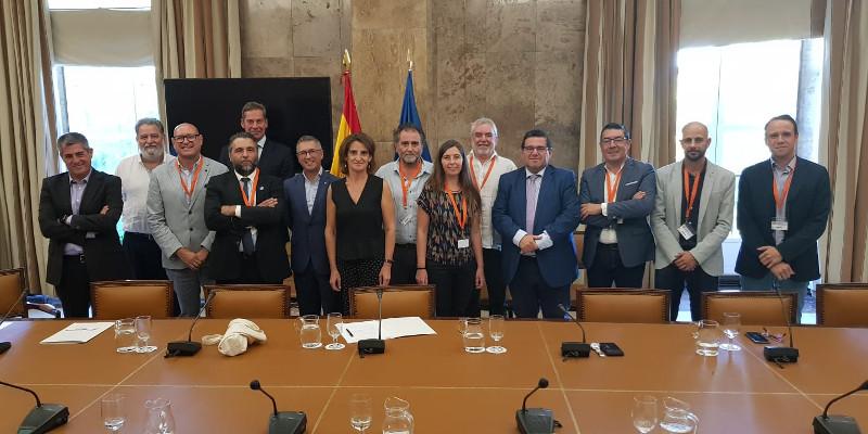 Emalcsa, a través de Aeopas, ofrece su colaboración al Ministerio de Transición Ecológica en la lucha contra el cambio climático
