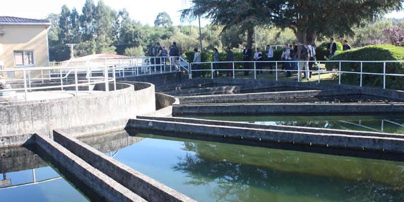 La estación de A Telva trató casi 35 millones de metros cúbicos de agua en 2017