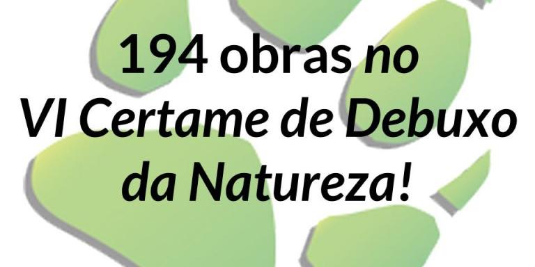 Récord de participación en el certamen de dibujo 'Vida Silvestre do Encoro de Cecebre'