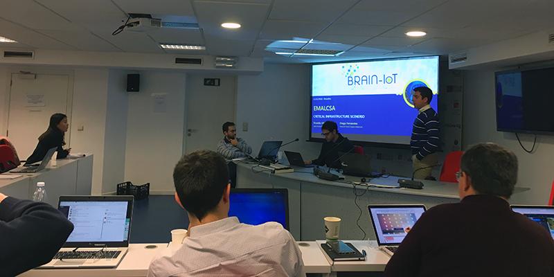 Brain-IoT: encontro de trabajo y evaluación en Bruselas