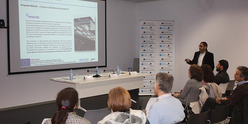 Presentación del proyecto Bialac para el desarrollo de bioplásticos, liderado por Emalcsa