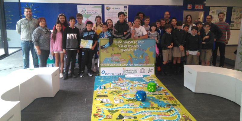 Once centros escolares participaron en el concurso 'A auga non para 2019