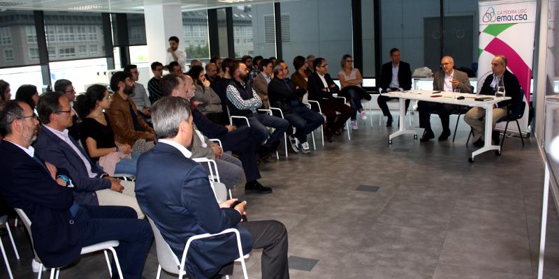 La Cátedra Emalcsa-UDC acogió una conferencia de Pere Malgrat