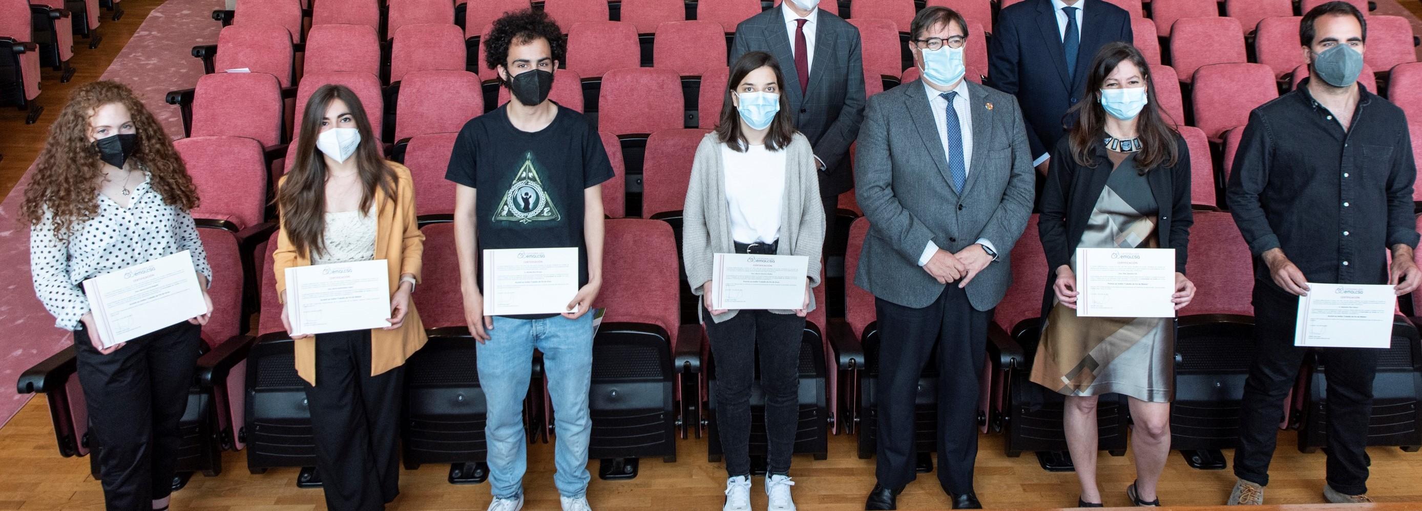 Pilar Sánchez y Marta Sánchez, Premios Cátedra  Emalcsa-UDC