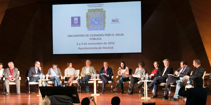 A Coruña e outras nove cidades únense en defensa da auga pública