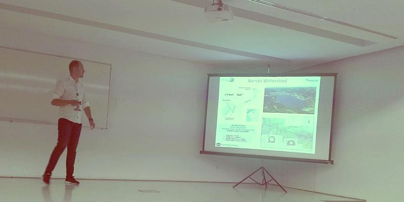 A monitorización do encoro de Cecebre, un exemplo no Congreso da Asociación Ibérica de Limnoloxía